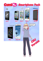 [DL] Comipo Smartphone Pack by M-Reddragon