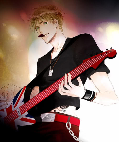 Punk englandxmale reader this song s for you by yukinakou on