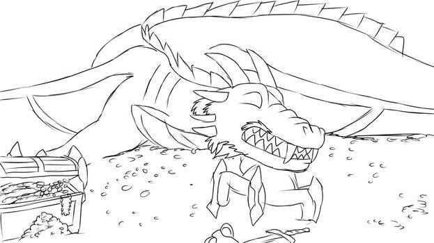 Dragon wakes up