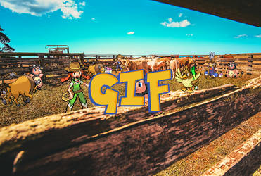 Pokemon Sprite GIF - MooMoo Farm by Loupii