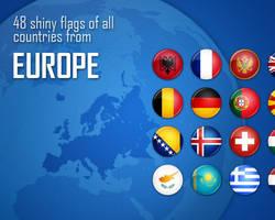 Flag Icons - Europe