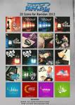 20 Icons for Ramdan 2013 by Hayoma