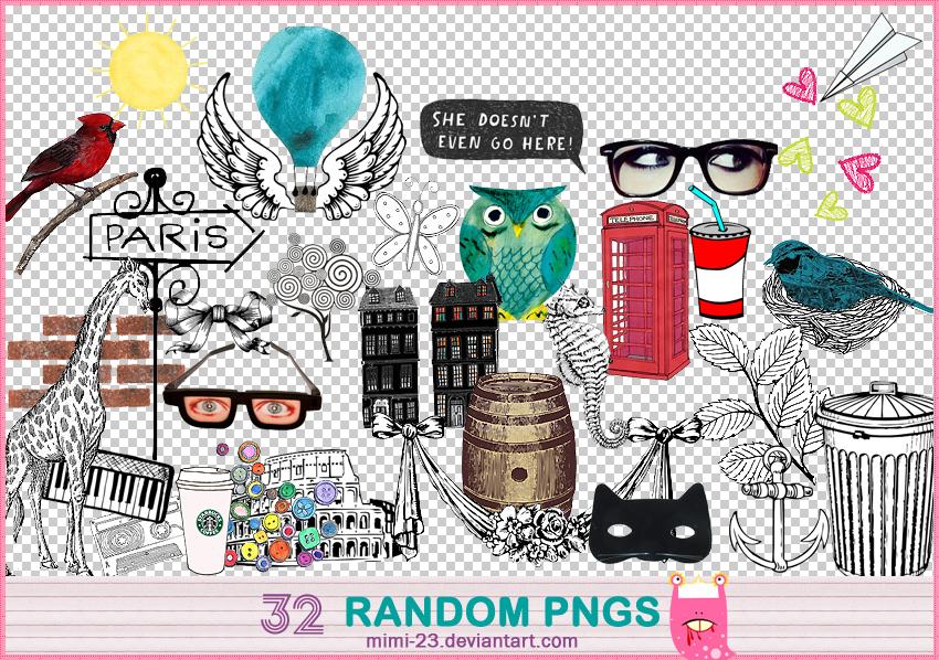 32 RANDOM PNG by MiMi-23