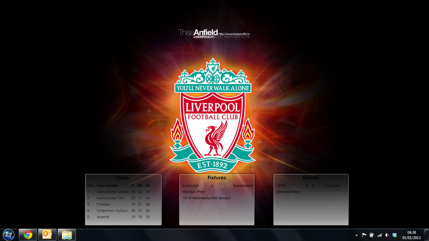 result of liverpool match