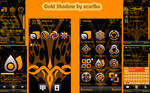 Gold Shadow Theme by Xcariba