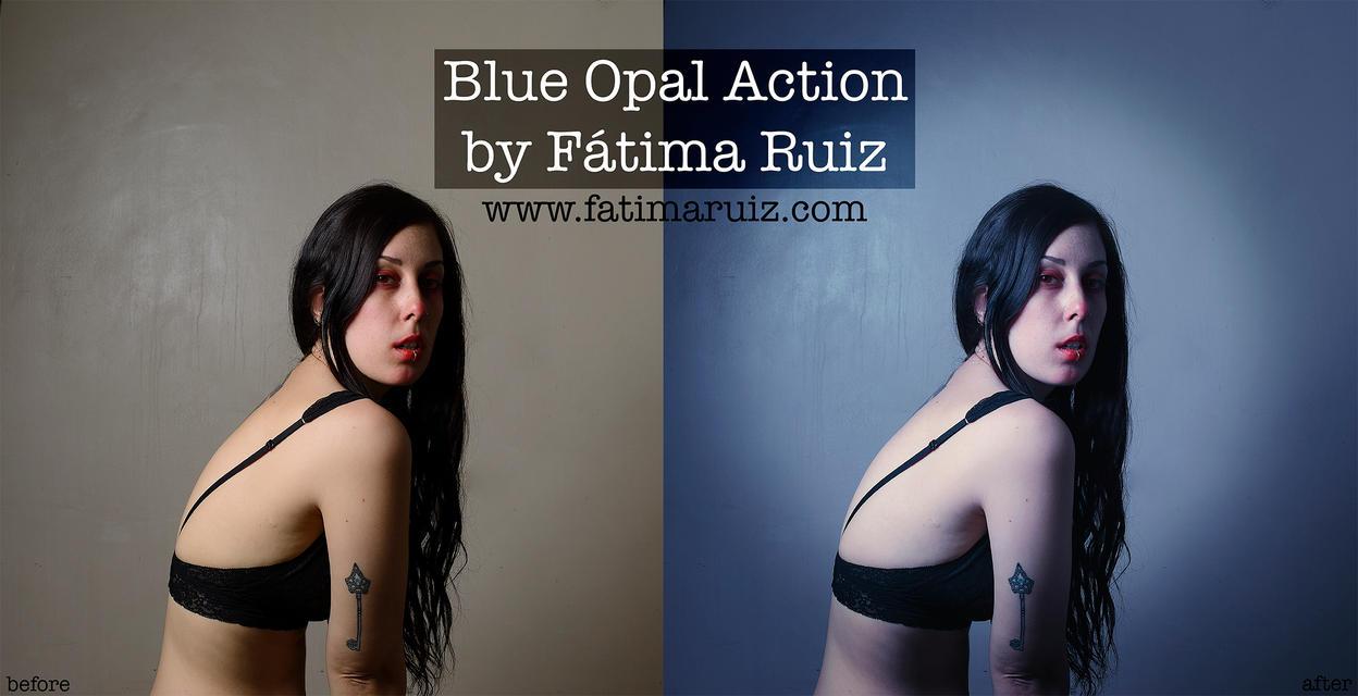 BlueOpal Action By FatimaRuiz by FatimaRuiz