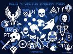 Halo 4 Vector Emblem Pack