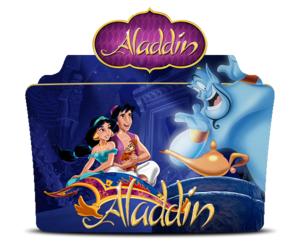Aladdin 1992 folder icon - ZIP by szalaiadam2
