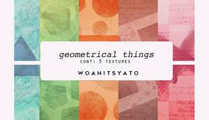 geometric things - texture pack