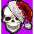 Avatar: Santa Skull by FantasyStockAvatars