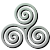 Avatar: Celtic Tri-Spiral by FantasyStockAvatars