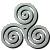Avatar: Celtic Tri-Spiral by FantasyStockAvatars