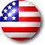 Avatar: Button Flag of USA by FantasyStockAvatars