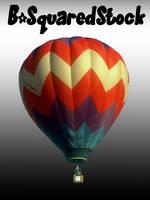 Hot Air Balloon PSD by B-SquaredStock
