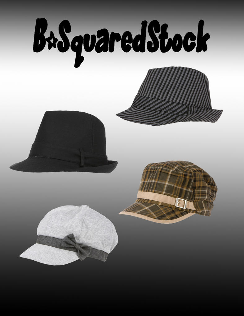 Hats PSD by B-SquaredStock