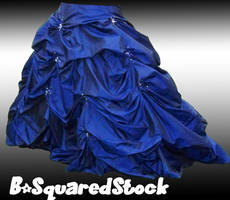 Blue Skirt Side PSD by B-SquaredStock