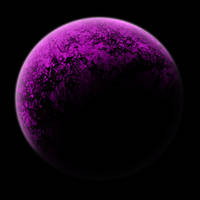 Pink Planet PSD by B-SquaredStock