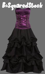 Rouched Dress PSD