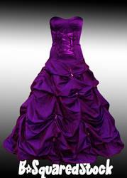 Purple Dress PSD