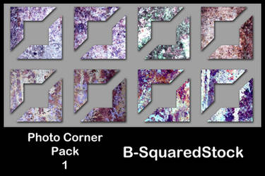 Photo Corner Pack 1 by B-SquaredStock
