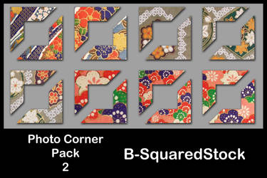 Photo Corner Pack 2 by B-SquaredStock