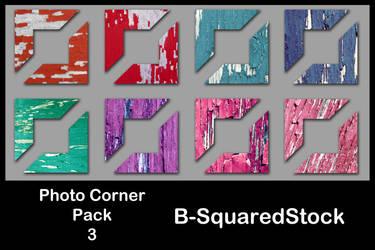 Photo Corner Pack 3 by B-SquaredStock