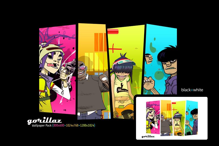 Gorillaz Wallpaper Pack by alieno on DeviantArt