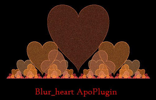 Blur_heart + hearty apoplugins by dark-beam