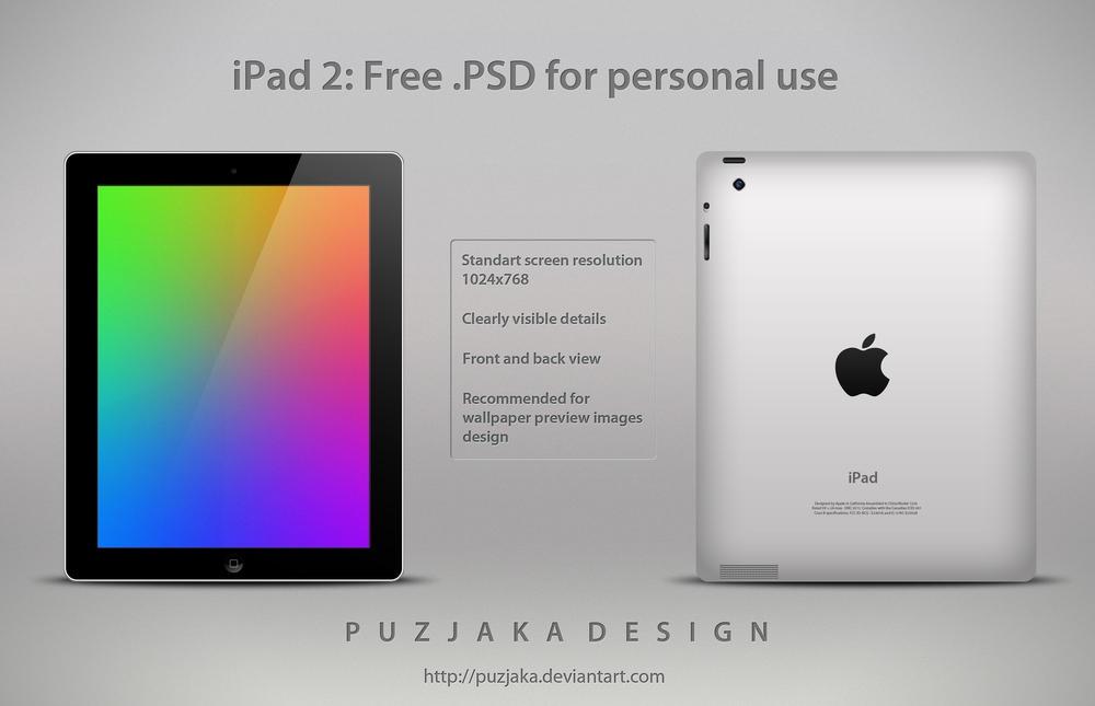 iPad 2 by Puzjaka