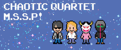 Galactic and chaotic four (Earthbound style) by Elza8
