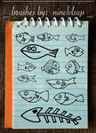 Doodle Fish Brushes