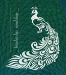 Decorative Peacock Brush