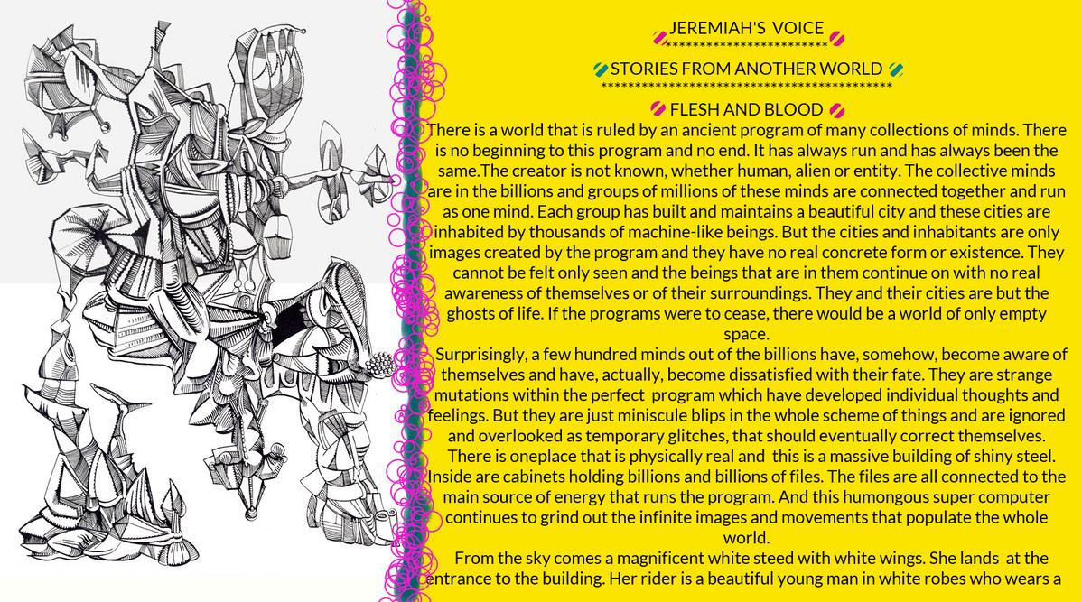 JEREMIAH'S VOICE::: by jeremiahkauffman