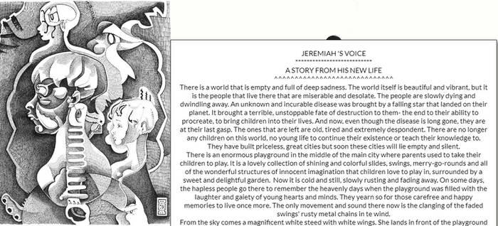 BOYFACE by JEREMIAH KAUFFMAN (DRAWING)
