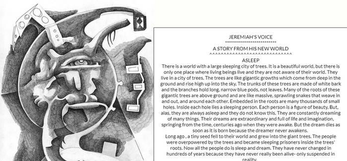 TEARDROP(DRAWING)by JEREMIAH KAUFFMAN