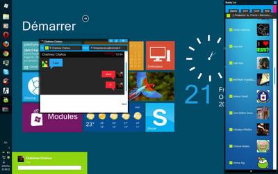 Windows Phone 7 Skin Digsby
