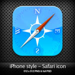 iPhone style - Safari icon