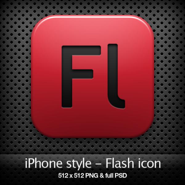 iPhone style - Fl CS4 icon by YaroManzarek