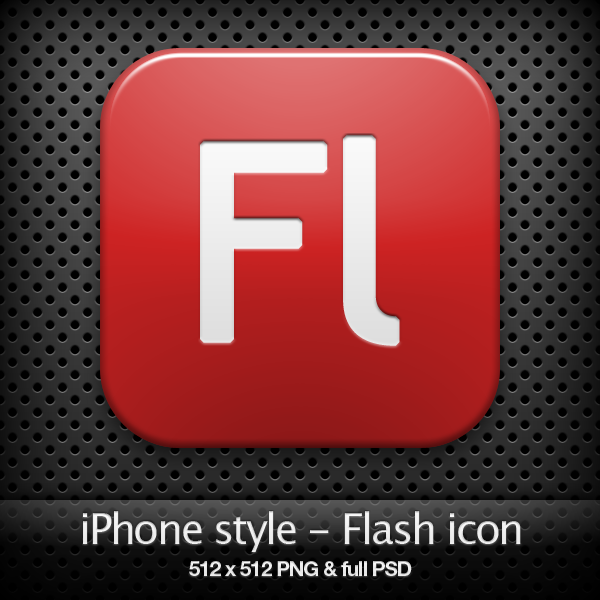 iPhone style - Fl CS3 icon by YaroManzarek