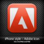 iPhone style - Adobe CS3 icon