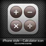 iPhone style - Calculator icon