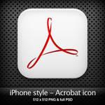 iPhone style - Acrobat icon