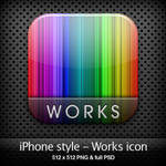 iPhone style - Works icon