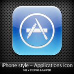 iPhone style - Apps icon