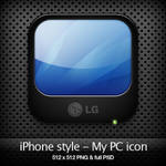 iPhone style - My PC icon