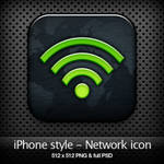 iPhone style - Network icon