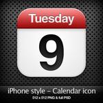 iPhone style - Calendar icon