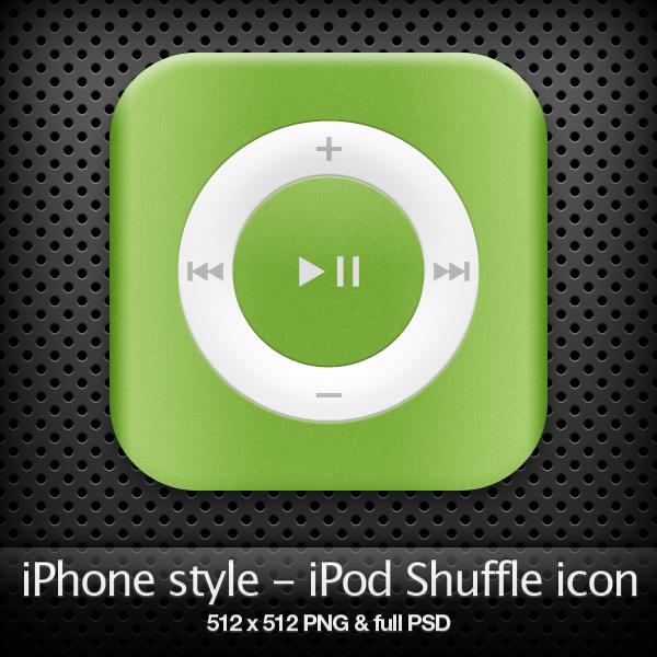 iPhone style - iPod icon by YaroManzarek
