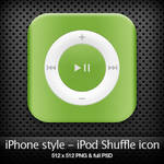 iPhone style - iPod icon