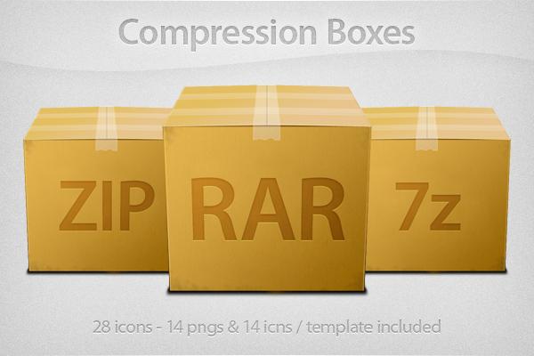 Compression boxes by YaroManzarek